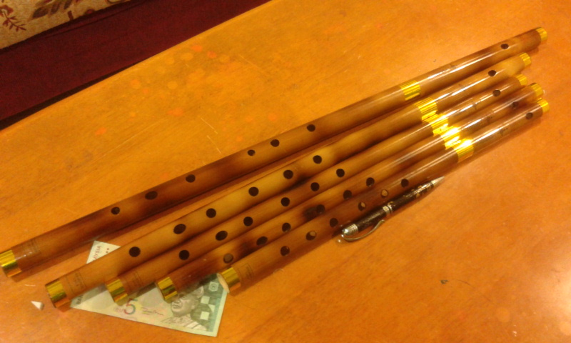 how to make a suling flute